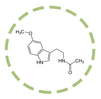 Melatonina_Formula de la melatonina